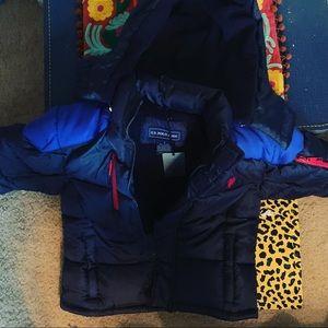 NWT boys size 7 U.S. Polo Association Coat Polo